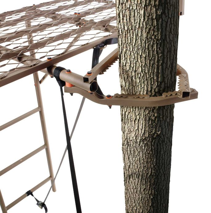 Field & Stream Outpost 2X 16' Ladder Stand & Blind Kit – Elite Jaw Truss