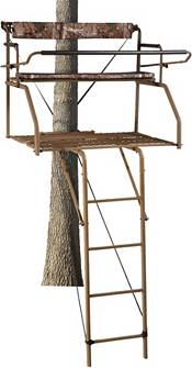 Field & Stream Outpost 2X 16' Ladder Stand & Blind Kit – Elite Jaw Truss product image