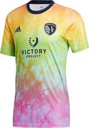 adidas Men's Sporting Kansas City Tie-Dye Pride Jersey product image