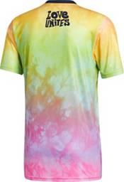 adidas Men's New England Revolution Tie-Dye Pride Jersey product image