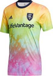 adidas Men's Real Salt Lake Tie-Dye Pride Jersey product image