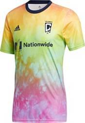 adidas Men's Columbus Crew Tie-Dye Pride Jersey product image