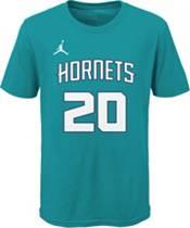 Jordan Youth Charlotte Hornets Gordon Hayward #20 Teal Cotton T-Shirt product image
