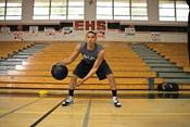 "SKLZ Heavy Weight Control Training Basketball (29.5"") product image"