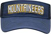 Top of the World Men's West Virginia Mountaineers Blue Intrude Visor product image