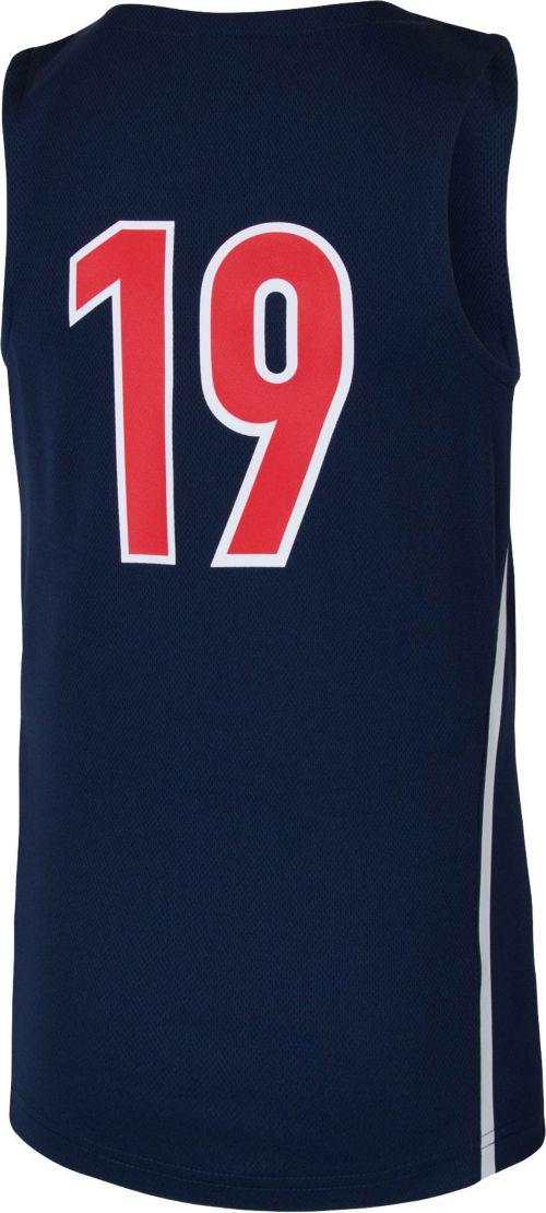 f885b1c49455 Nike Youth Arizona Wildcats  19 Navy Replica ELITE Basketball Jersey.  noImageFound. Previous. 1. 2. 3