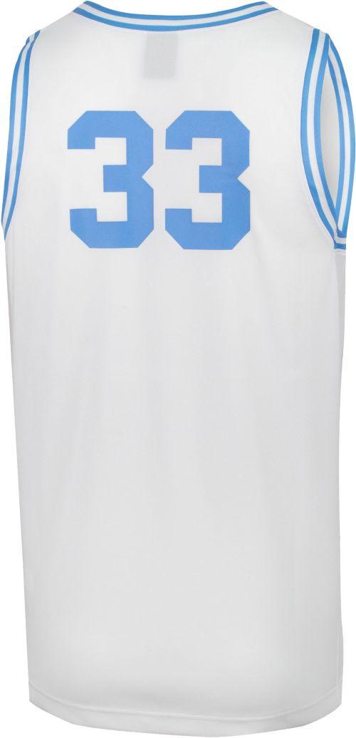 new style 18275 3a4d5 Jordan Men s North Carolina Tar Heels  33 Retro Replica Basketball White  Jersey. noImageFound. Previous. 1. 2. 3