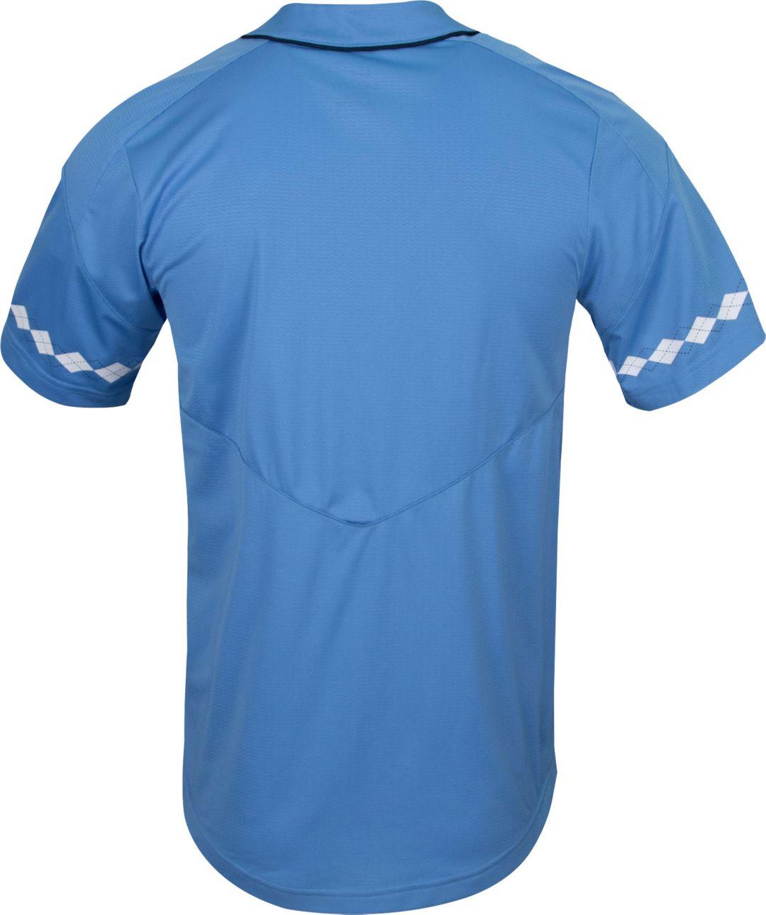 timeless design 873b0 31e34 Nike Men s North Carolina Tar Heels Carolina Blue Dri-FIT Replica Baseball  Jersey. noImageFound. Previous. 1. 2