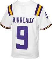 Nike Youth Replica LSU Tigers Joe Burreaux #9 White Jersey product image