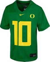 Nike Youth Replica Oregon Ducks Justin Herbert #10 Green Jersey product image