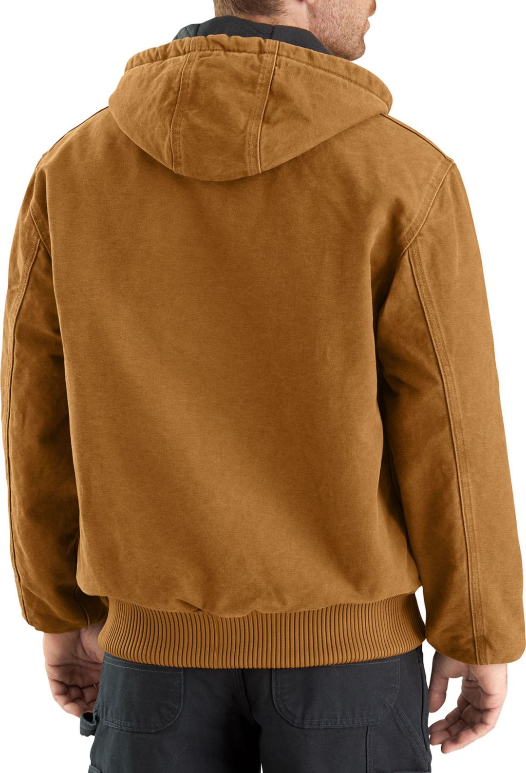 29992d6bd29 Carhartt Men's Sandstone Active Lined Jacket