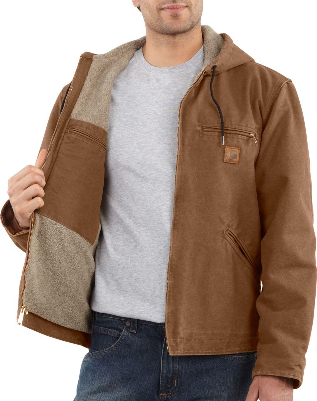 21442b66237 Carhartt Men's Sandstone Sierra Jacket