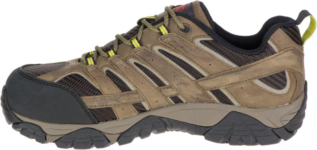 78e122de9c2 Merrell Men's Moab 2 Vent Waterproof Composite Toe Work Shoes