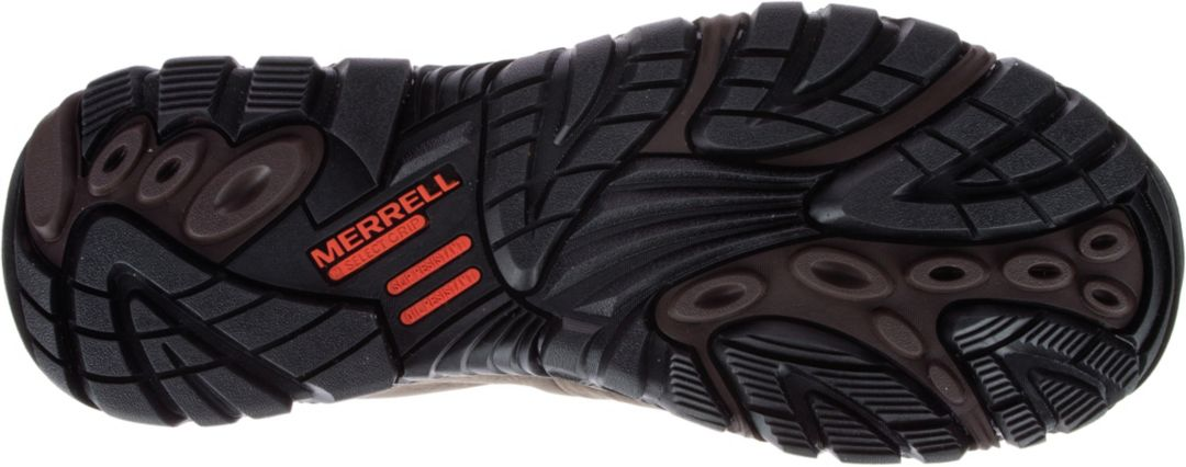 15b7c6dd3f Merrell Men's Moab Rover Mid Waterproof Composite Toe Work Boots