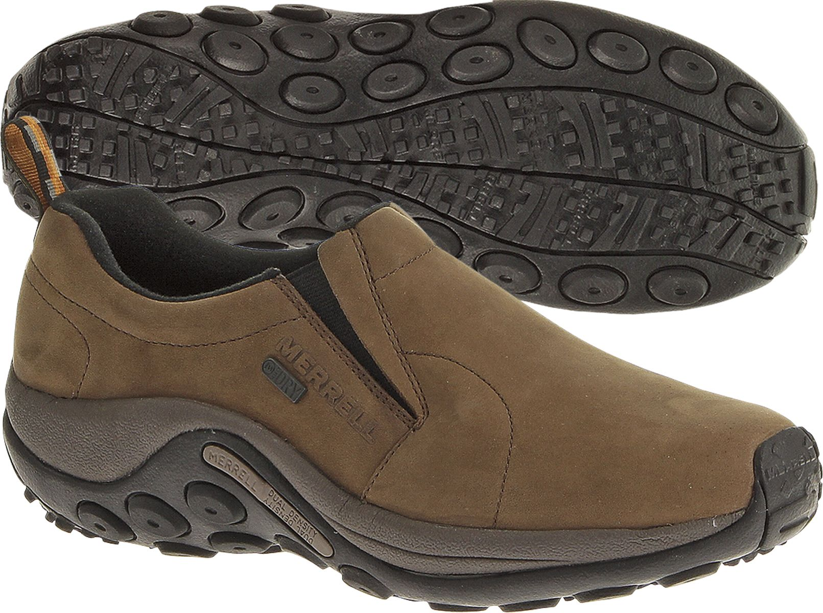 merrell mens jungle moc casual shoes - brown shop