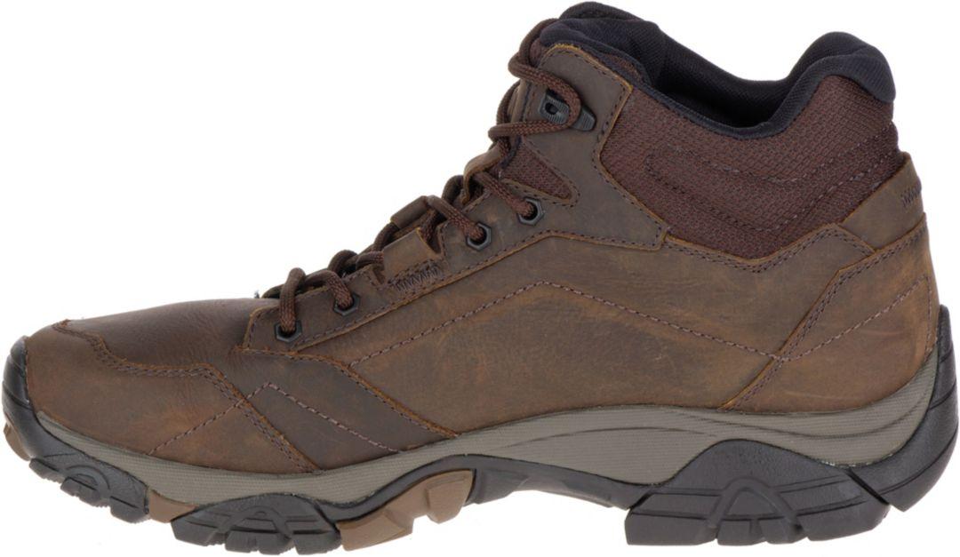 4b93e05eace Merrell Men's Moab Adventure Mid Waterproof Hiking Boots