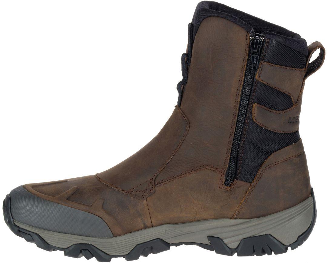 Mens Zipper Winter Boots