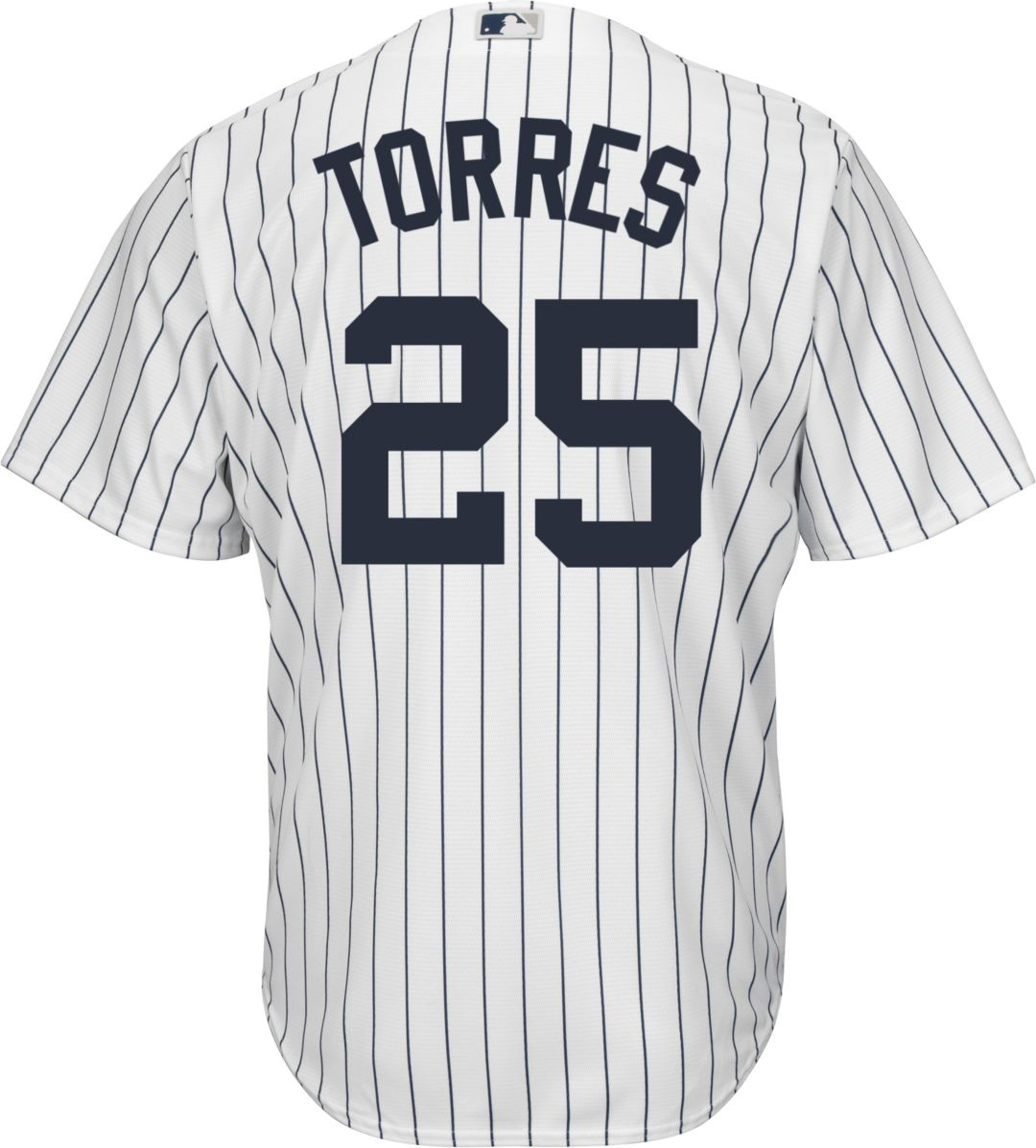 new styles d4aca 3835d Youth Replica New York Yankees Gleyber Torres #25 Home White Jersey