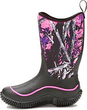 Muck Boots Kids' Hale All-Season Camo Waterproof Rubber Boots product image