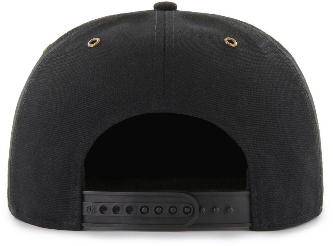 052149430 '47 Men's Pittsburgh Pirates Carhartt Captain Black Adjustable Snapback Hat