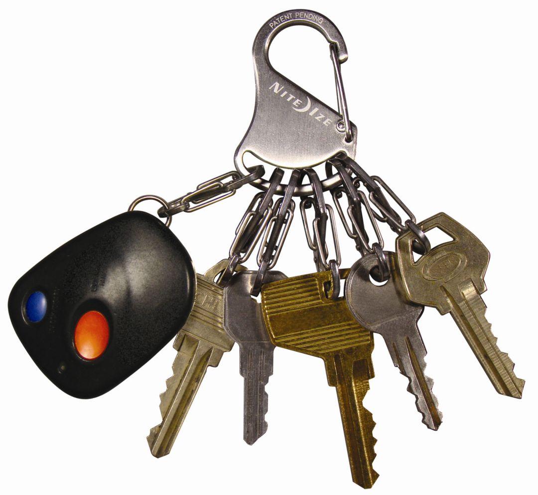 Nite Ize S-Biner Steel Key Rack