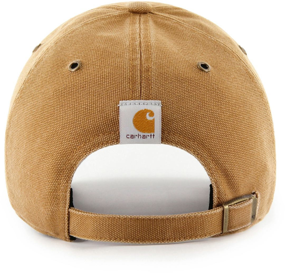 Outstanding 47 Mens Chicago Cubs Carhartt Clean Up Brown Adjustable Hat Pabps2019 Chair Design Images Pabps2019Com