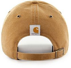 6cc3016a86c '47 Men's Houston Astros Carhartt Clean Up Brown Adjustable Hat alternate 1