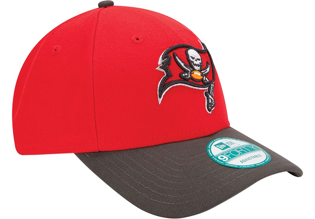 new styles aa6fc b512b New Era Men s Tampa Bay Buccaneers League 9Forty Adjustable Red Hat.  noImageFound. Previous. 1. 2. 3