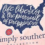 Simply Southern Women's Short Sleeve Liberty T-Shirt product image