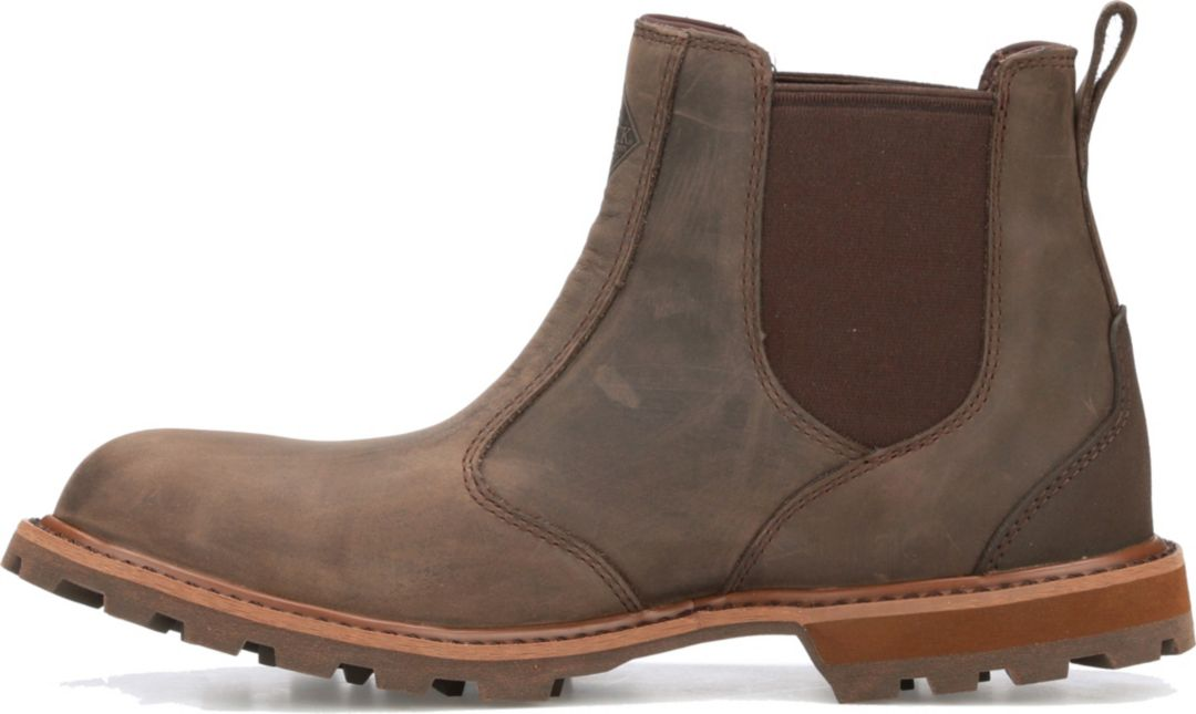 5e3419f8c73 Muck Boots Men's Leather Chelsea Boots