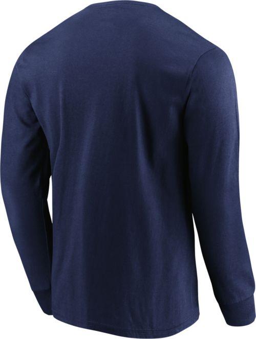 068f1ea4d Majestic Men s Buffalo Sabres Penalty Shot Navy Long Sleeve Shirt ...