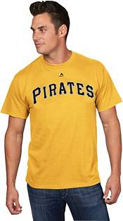 Majestic Men's Pittsburgh Pirates Gregory Polanco #25 Gold T-Shirt product image