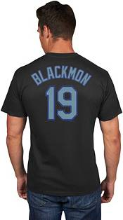 Majestic Men's Colorado Rockies Charlie Blackmon #19 Black T-Shirt product image