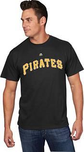 Majestic Men's Pittsburgh Pirates Gregory Polanco #25 Black T-Shirt product image