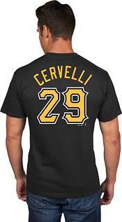 Majestic Men's Pittsburgh Pirates Francisco Cervelli #29 Black T-Shirt product image