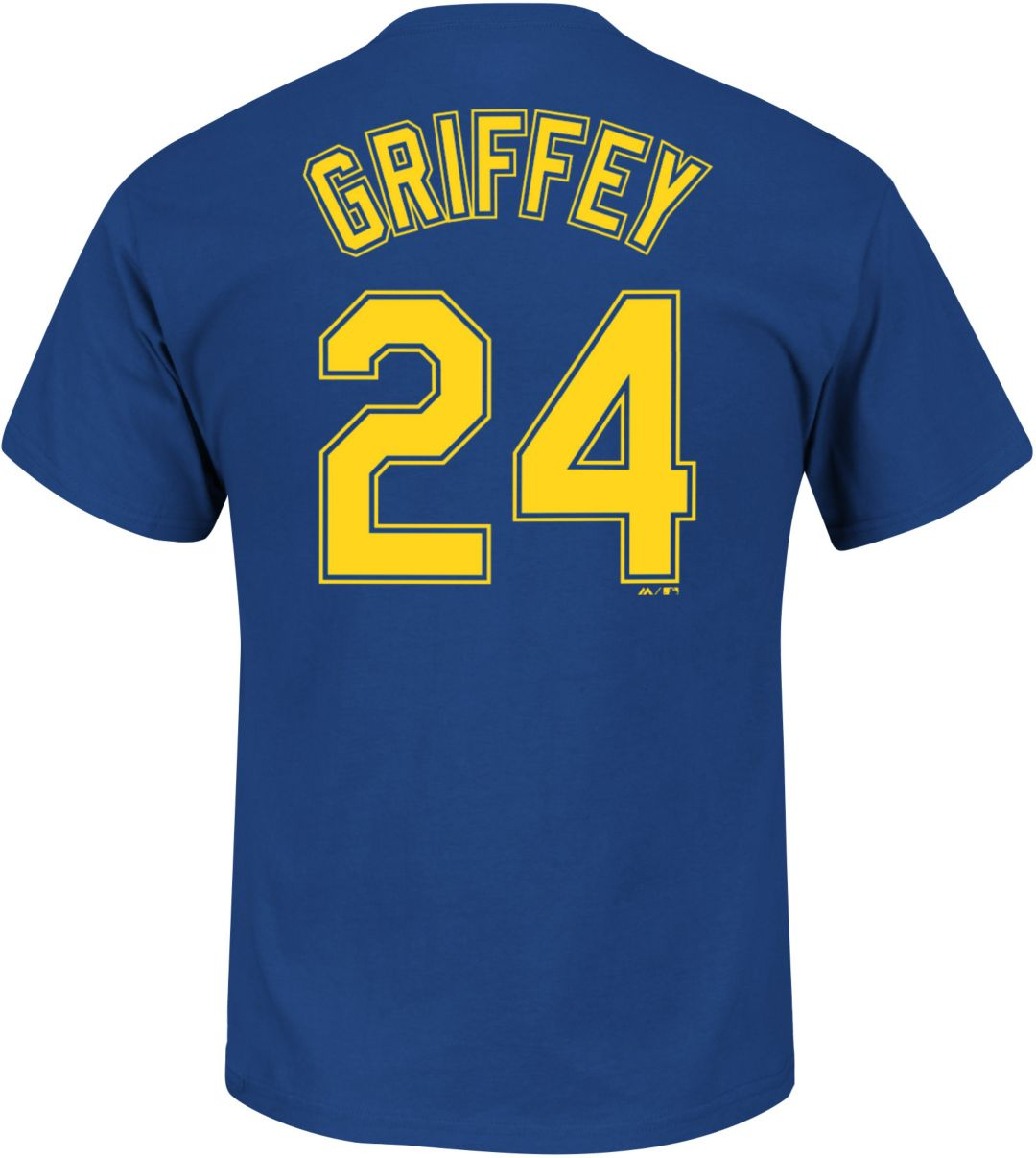 new concept 7a548 72302 Majestic Men's Seattle Mariners Ken Griffey Jr. #24 Royal T-Shirt