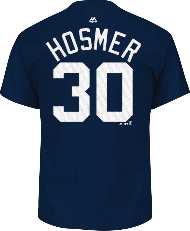 watch 28c7c 0f268 Majestic Men's San Diego Padres Eric Hosmer #30 Navy T-Shirt
