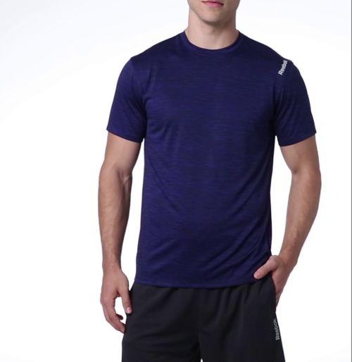 fbacc2a3536 Reebok Men s Spacedye Performance T-Shirt