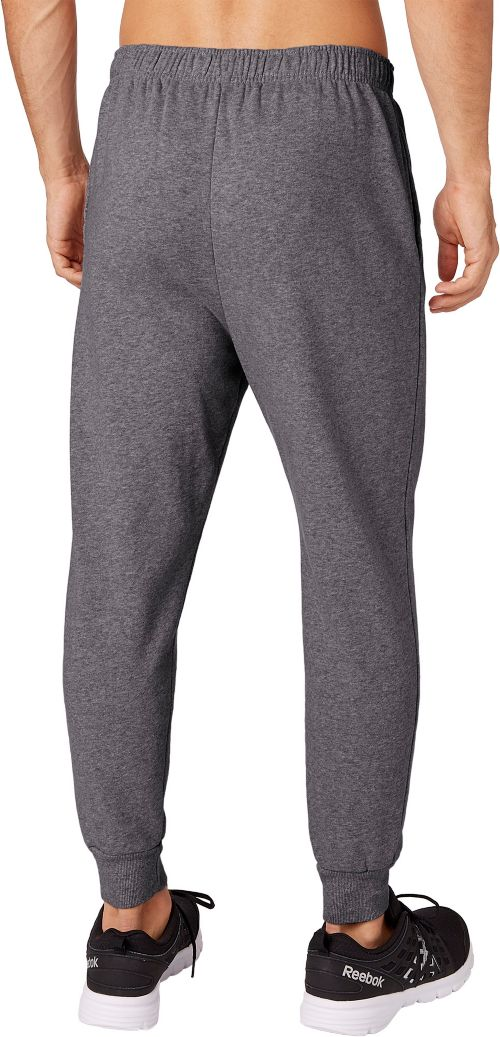 28dc7adf5c37 Reebok Men s Heather Cotton Fleece Jogger Pants