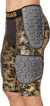 adidas Adult Techfit Gold Foil 5-Pad Football Girdle product image