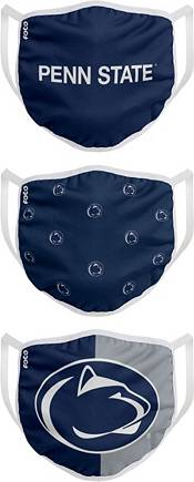 FOCO Youth Penn State Nittany Lions 3-Pack Face Coverings product image