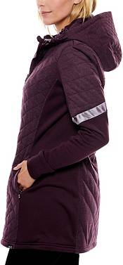 Be Boundless Women's Quilted Melange Knit Hooded Jacket product image