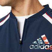 adidas Men's Triple Stripe America Baseball Jacket product image