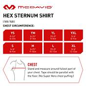 McDavid Youth HEX ¾ Sleeve Sternum Shirt product image