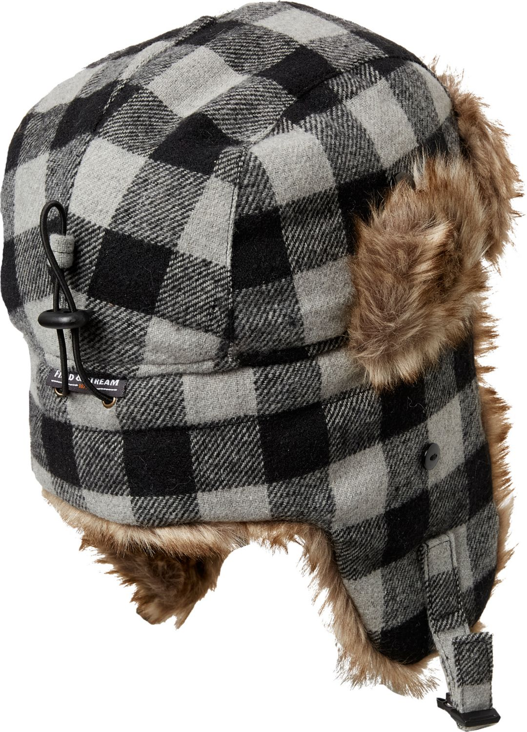 37ec0d4d07873 Field   Stream Men s Plaid Trapper Hat 2