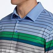 Walter Hagen Men's 11 Majors Engineered Stripe Golf Polo – Big & Tall product image
