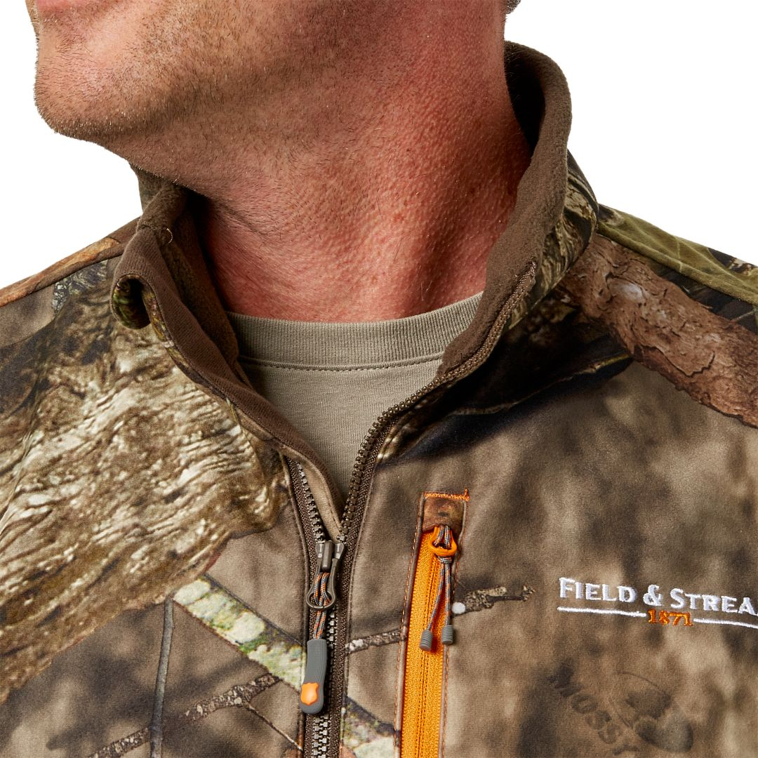 25e0b4f8251b1 Field & Stream Men's Every Hunt 1/2 Zip Softshell Hybrid Jacket.  noImageFound. Previous. 1. 2. 3
