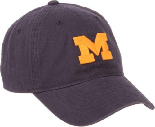 hot sale online 765f1 01909 Zephyr Men s Michigan Wolverines Blue Scholarship Adjustable Hat.  noImageFound. Previous. 1. 2. 3