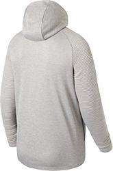 2d3c2d25b2e00 New Balance Men's Liverpool FC Travel Heather Grey Full-Zip Jacket ...