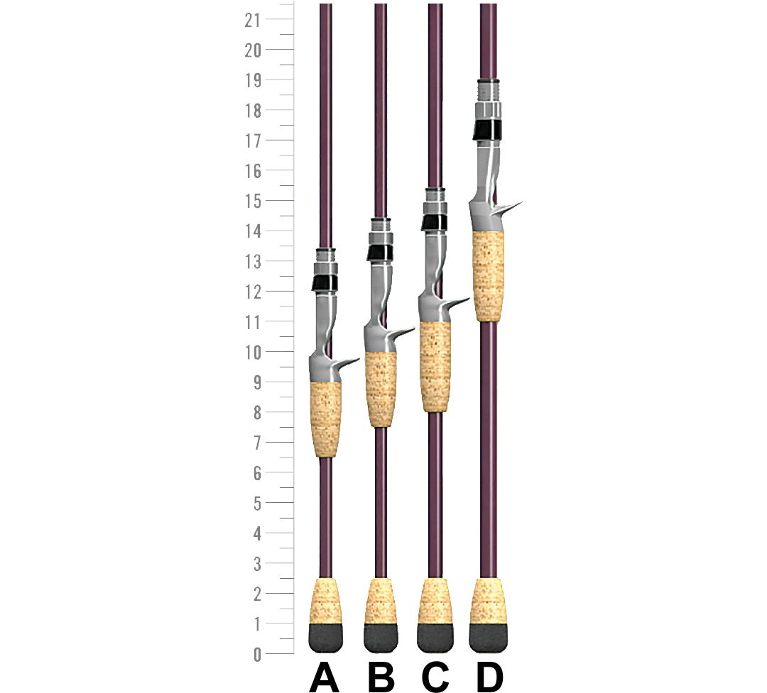 St  Croix Mojo Bass Casting Rod